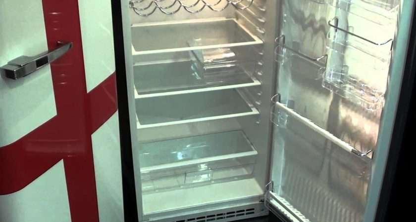 Inside Smeg Fab Retro Fridge Freezer Youtube