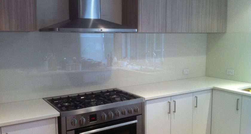 Inspirational Glass Tiles Kitchen Splashback Kezcreative