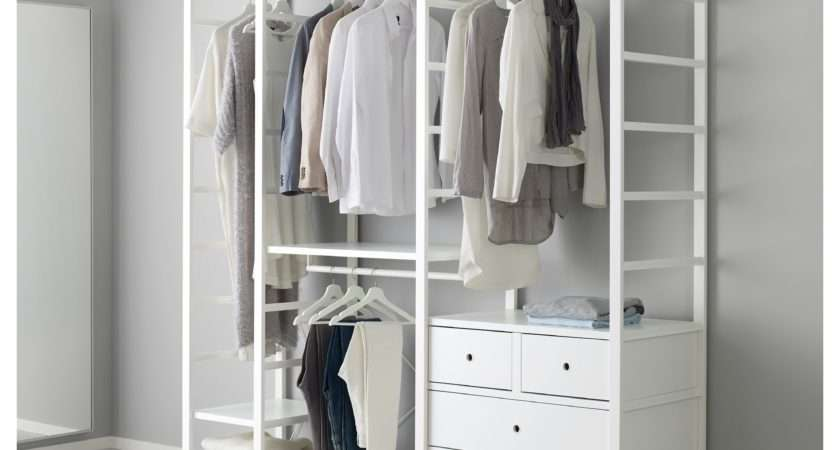 Inspirations Open Wardrobe Ikea