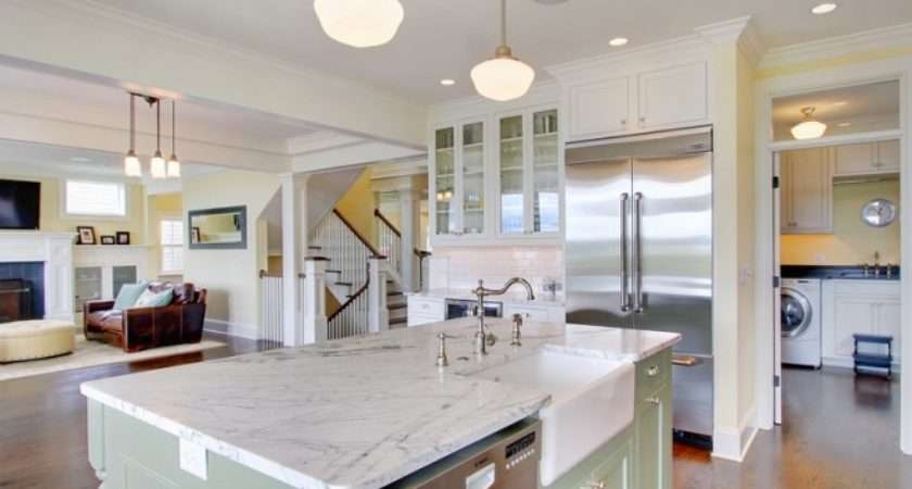 Inspired Great Room Ideas Traditional Kitchen