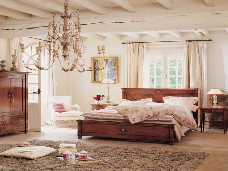 Inspiring Country Style Bedrooms Bedroom