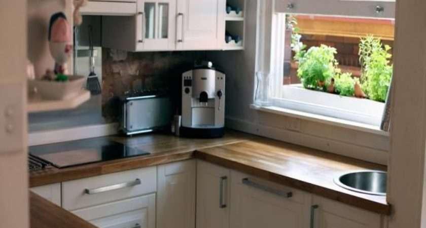 Inspiring Square Kitchen Plan Home Design