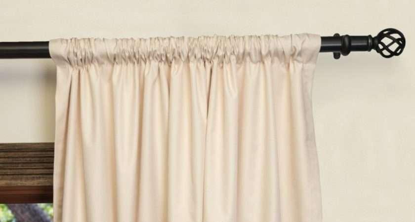Install Wide Curtain Rods Menzilperde