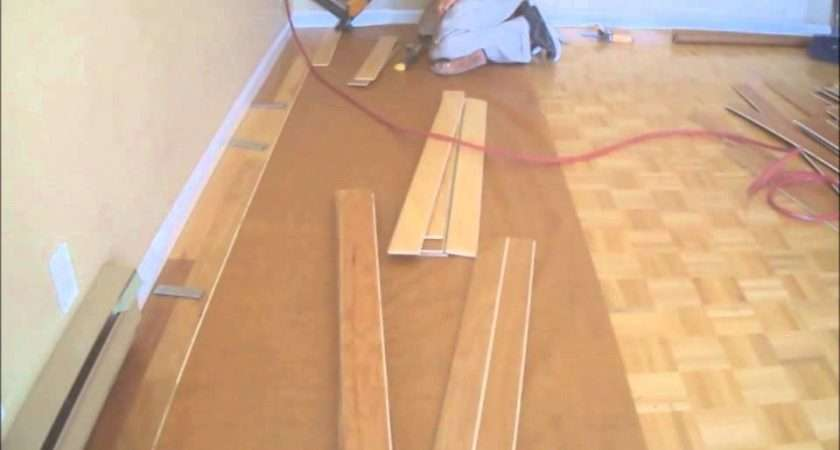 Installing Hardwood Floors Over Existing