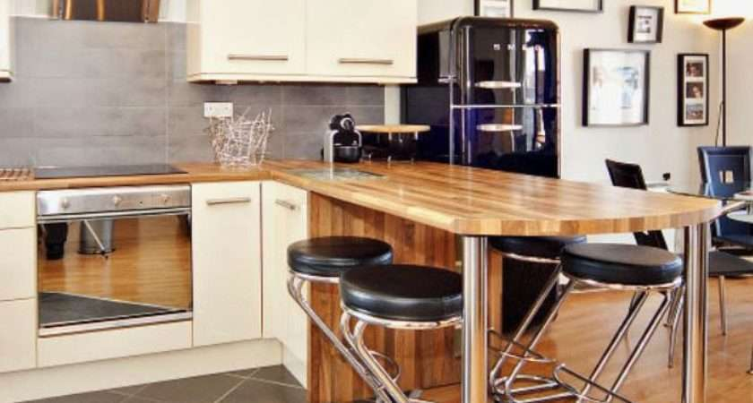 Instock Breakfast Bar Support Leg Kitchens