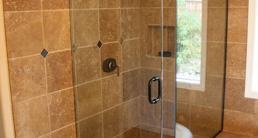 Interesting Stone Walk Shower Designs Ideas