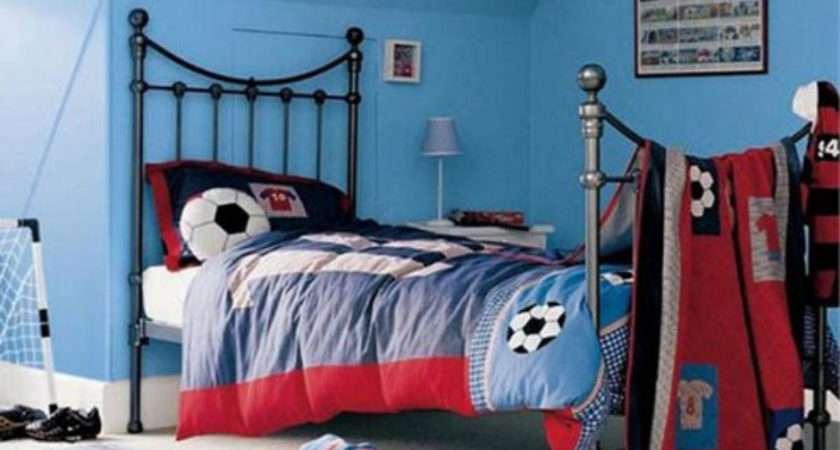 Interior Design Decorating Ideas Soccer Football Theme