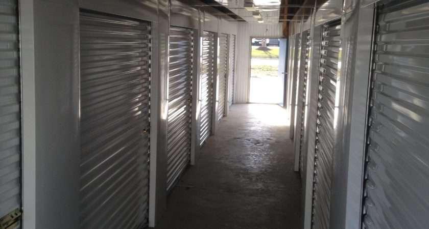 Interior Hallway Hour Self Storage Facility