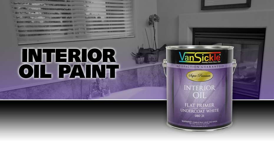 Interior Oil Paint Van Sickle