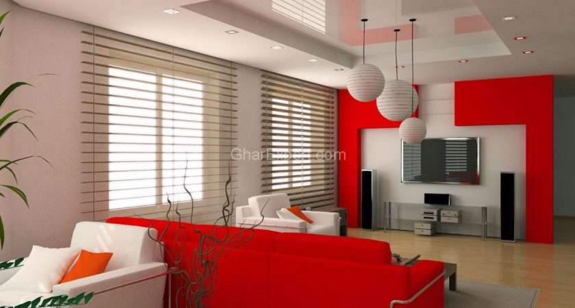 Interior Paint Scheme Duplex Living Room Asian