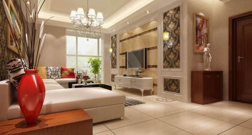 Interior Sitting Room Wall Design