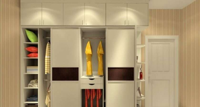 Interior Wall Wardrobe Design Bedroom House