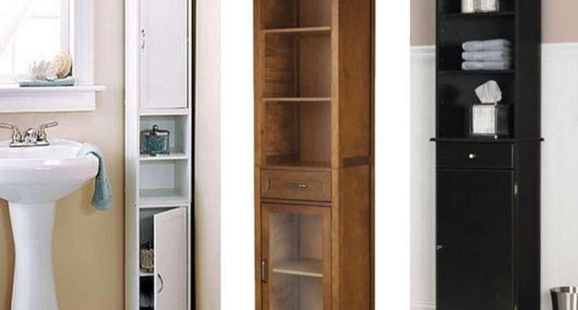 Interior Wondrous Tall Bathroom Storage Cabinets Design Ideas Milch