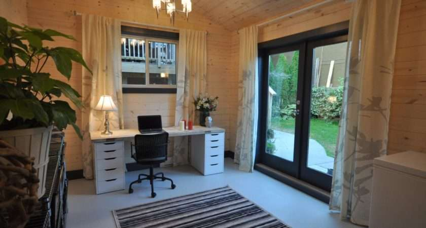 Into Home Office Garage Converted Spacious