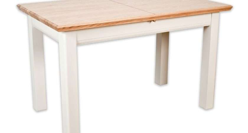 Intone Painted Oak Small Extending Dining Table
