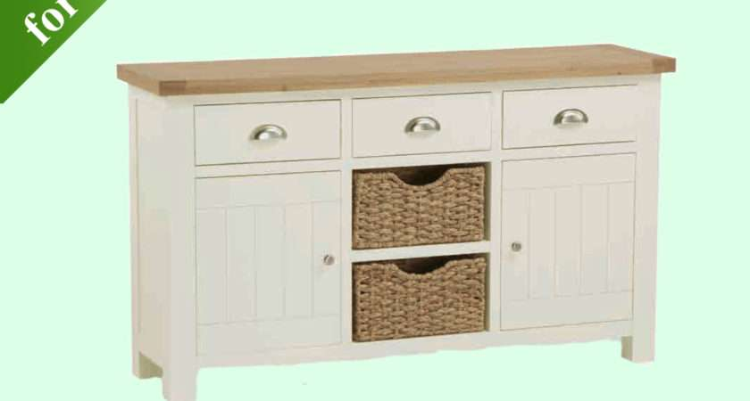 Intotal Sudbury Large Sideboard Baskets Sideboards