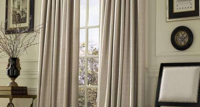 Inverted Pleat Drapes Smarten Your Window