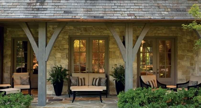 Inviting Space Sit Stay Awhile Porches Home