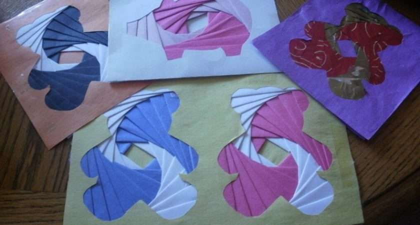 Iris Folding Make Paper Model Cut Out