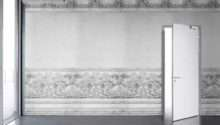 Iron White Panelling Bookcase Problem