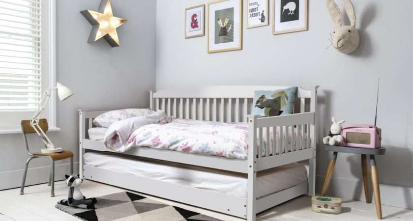 Isabella Day Bed Pull Out Trundle White Noa Nani