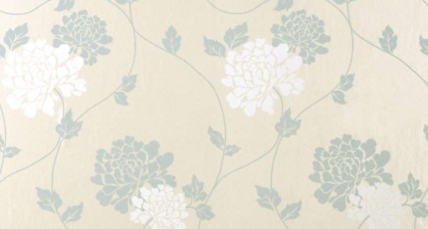 Isodore Duck Egg Floral Laura Ashley