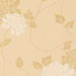 Isodore Gold Floral Laura Ashley
