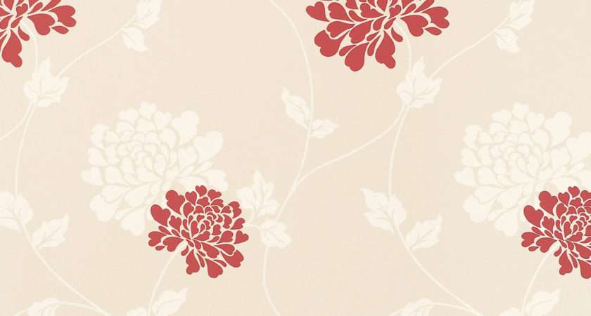Isodore Linen Cranberry Floral Laura Ashley