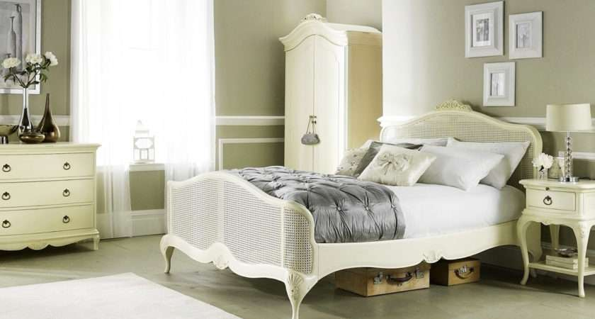 Ivory French Inspired Bedroom Furniture Crown