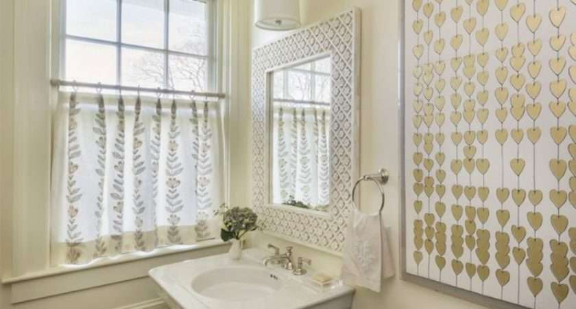 Ivory Powder Room Transitional Bathroom Digs Design Company
