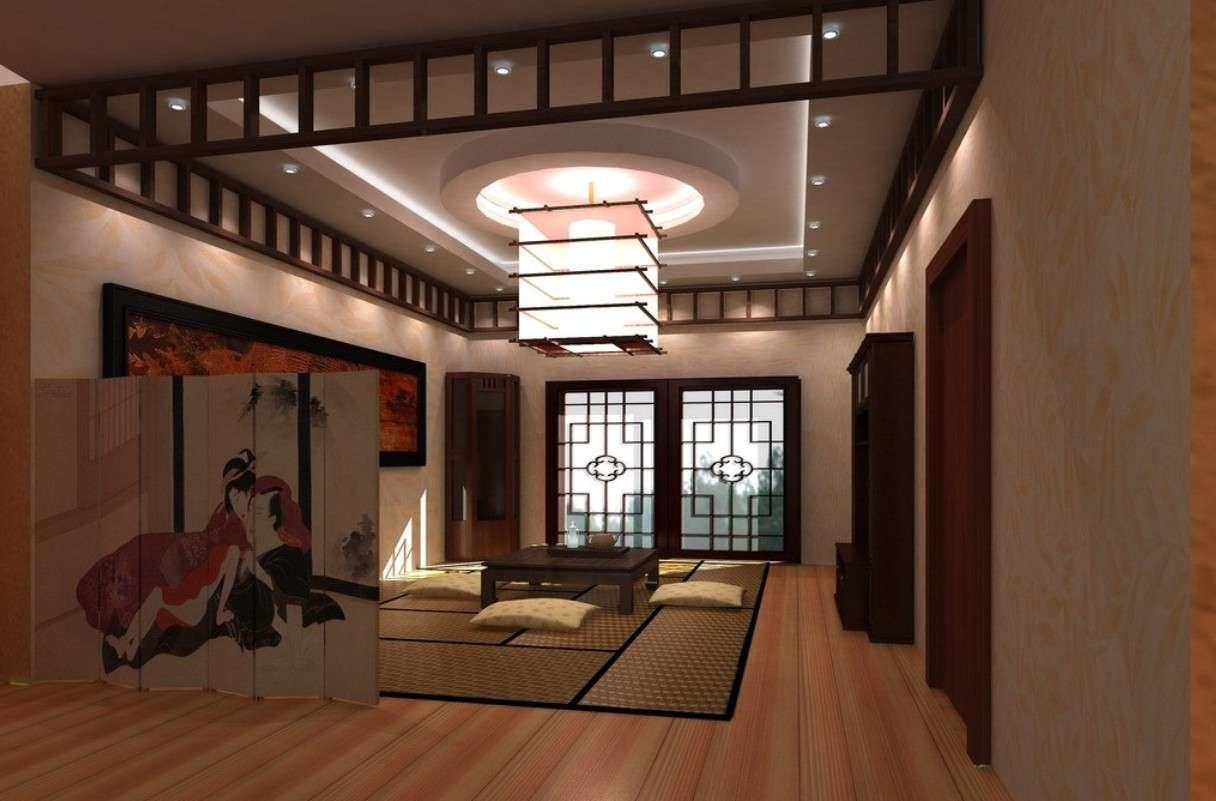 Japanese Living Room Interior Design Ideas