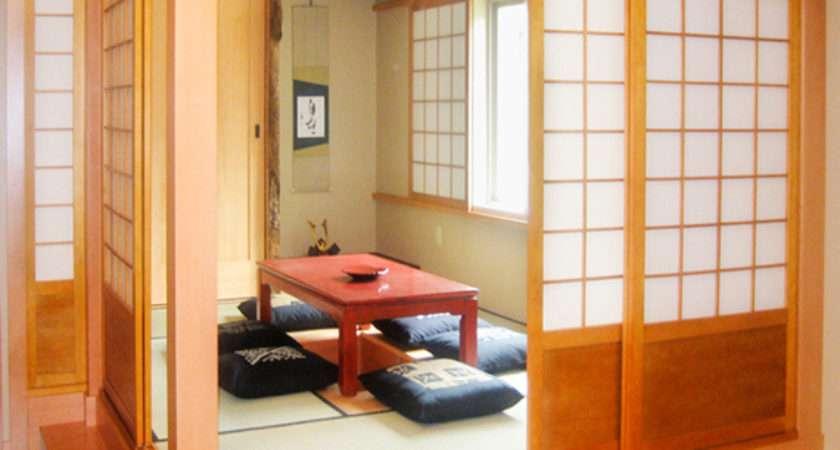 Japanese Style Doors Interior