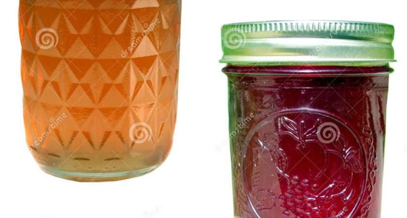 Jelly Jam Jars Apple Homemade