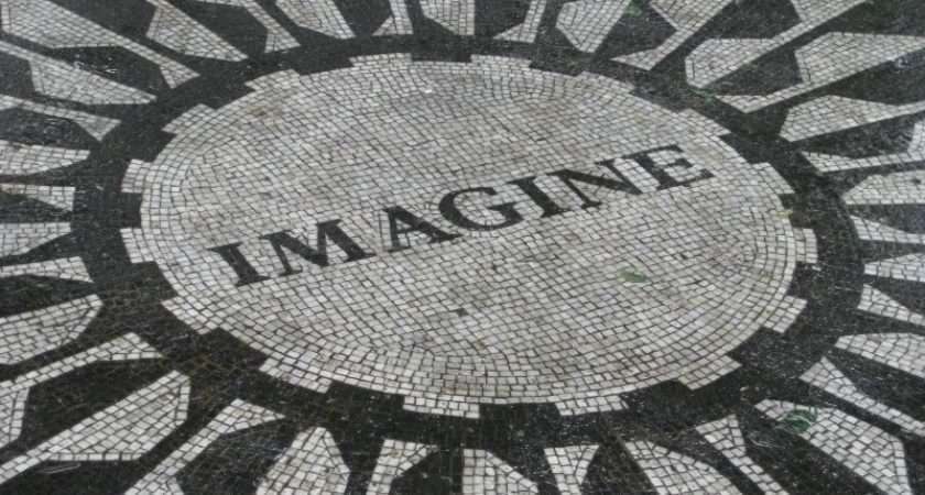 John Lennon Imagine Memorial Certainty Rock