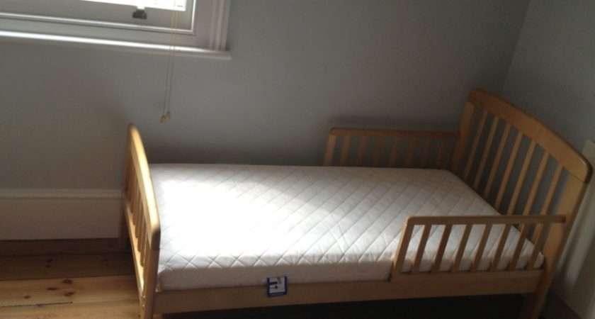 John Lewis Anna Junior Toddler Bed Birch Mattress Ebay