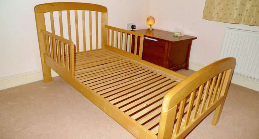 John Lewis Anna Junior Toddler Bed Natural Wood
