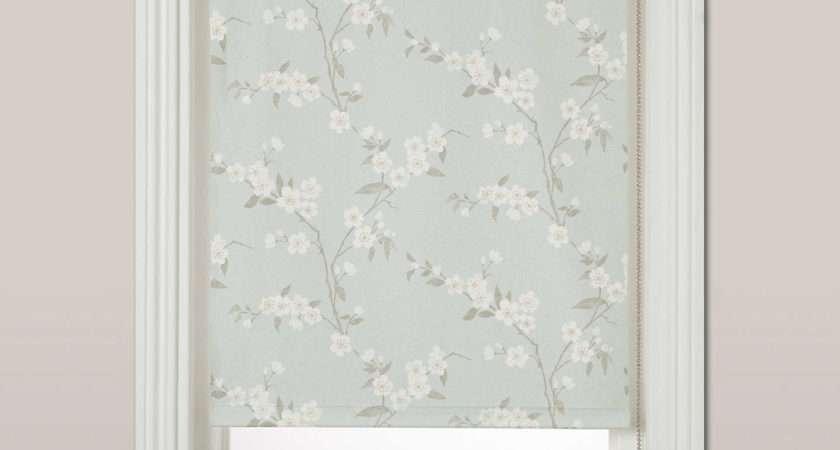 John Lewis Cherry Blossom Blackout Roller Blind