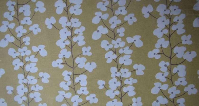 John Lewis Curtain Fabric Design Wallflower Metres