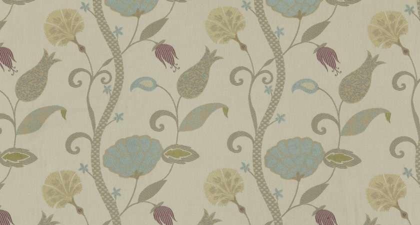 John Lewis Curtain Fabric Duck Egg Savae