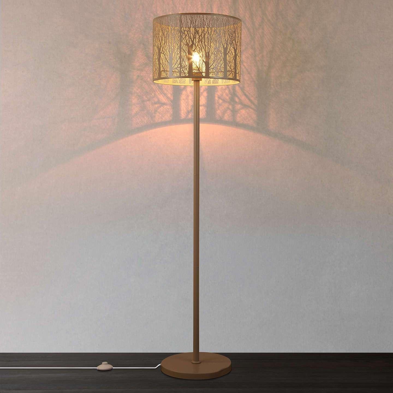 John Lewis Devon Large Floor Lamp Taupe