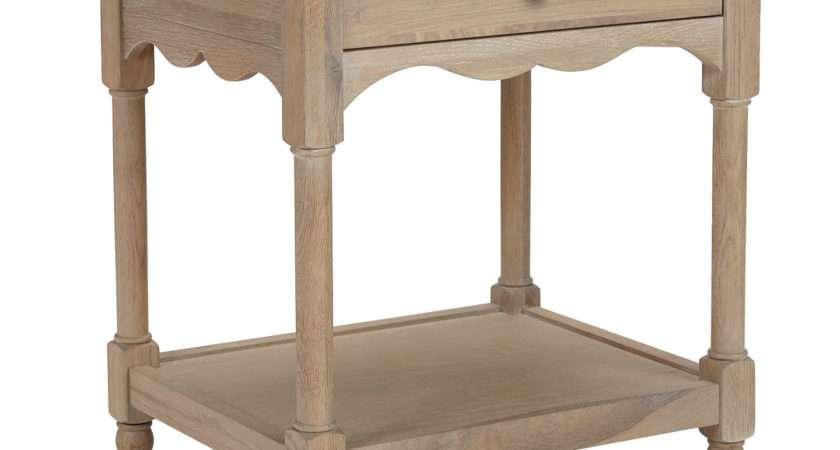 John Lewis Etienne Drawer Bedside Table Oak