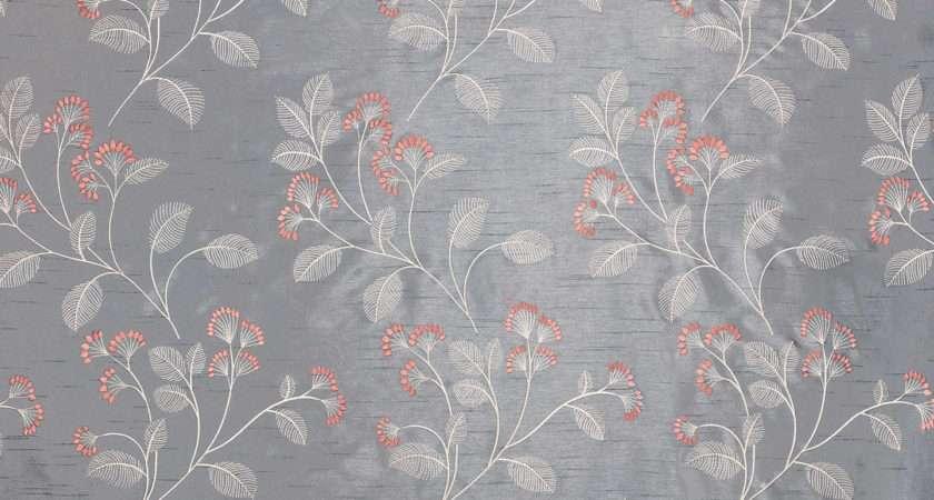 John Lewis Grace Floral Furnishing Fabric Thistle