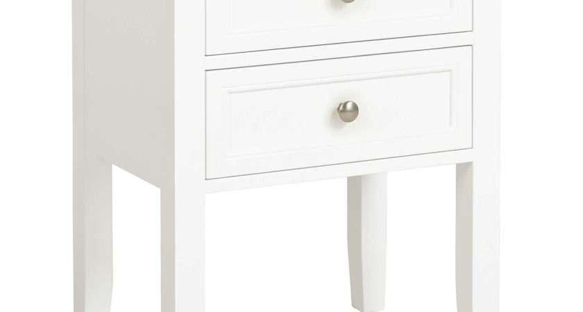 John Lewis Ives Bedside Table Fsc Certified Oak