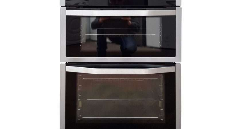 John Lewis Jlbido Double Electric Oven Stainless