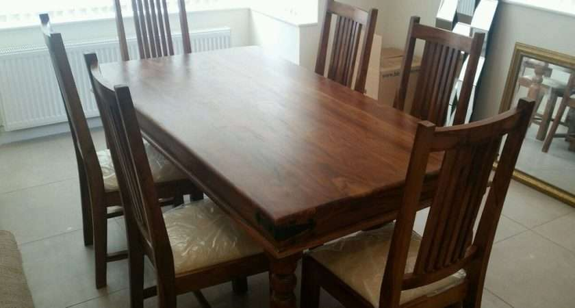 John Lewis Maharani Dining Table Chairs Ebay