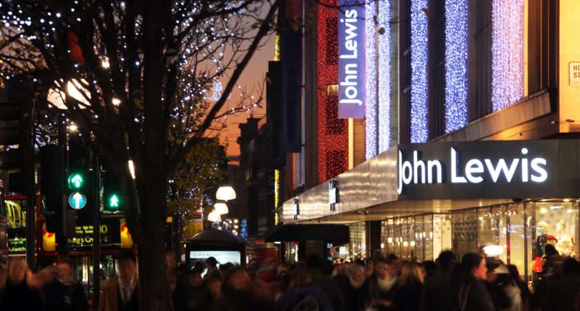 John Lewis Recruit Staff Christmas Ichainnel