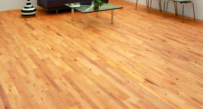 Junckers Beech Solid Strip Wood Flooring Oiled
