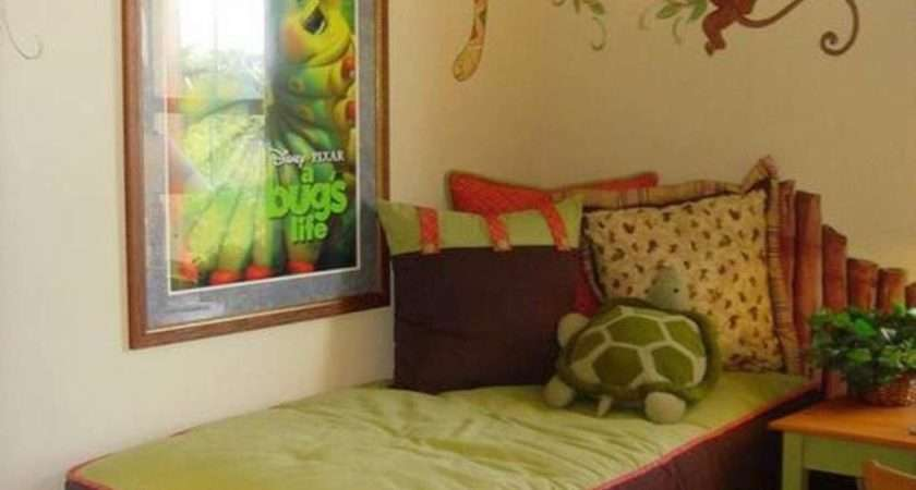 Jungle Themed Kids Rooms Paint Ideas