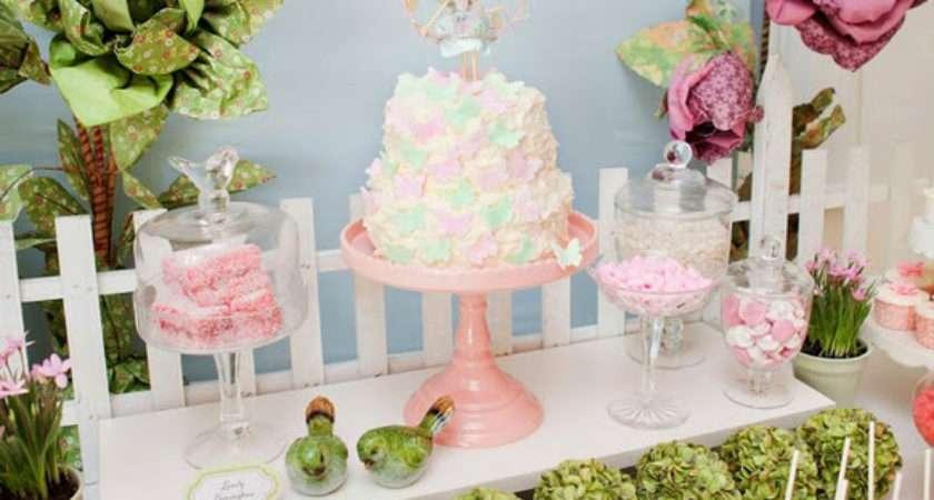 Kara Party Ideas Fairy Garden Birthday Butterfly