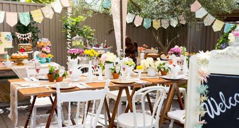 Kara Party Ideas Garden Baby Shower Planning Supplies